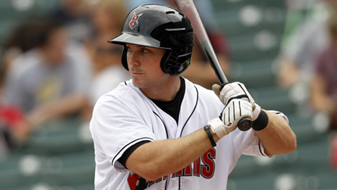 John Bowker hit his team-leading tenth home run Thursday night in the Tribe's 7-4 win.