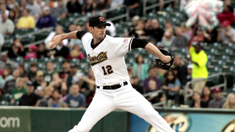 Brandon McCarthy has a 5.59 ERA in two PCL starts.