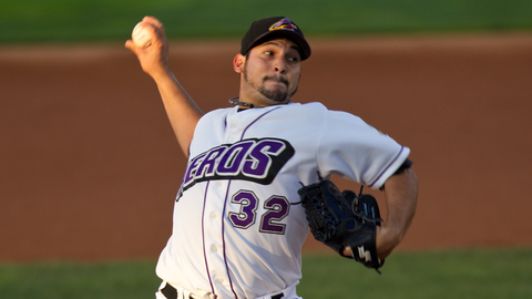 Paolo Espino went 7-3 with a 3.09 ERA for Akron in the regular season.