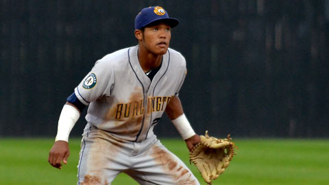 Addison Russell, a first-round pick in June, reached Class A by August.