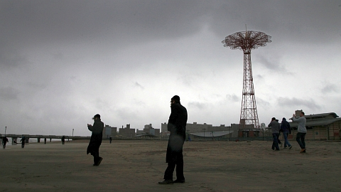New York's Coney Island, home of the Brooklyn Cyclones, was hit hard by Sandy.