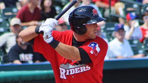 Mike Olt led the Texas League with a .579 slugging percentage in 95 games.